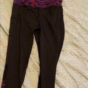 Girls workout pants size 14